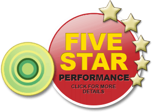 Five Star Performance. Click for more details.